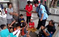 Tim LDP Ajak Anak-Anak Korban Kebakaran Bermain untuk Hilangkan Trauma