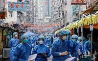 Ribuan Tenaga Medis Sisir Pemukiman Padat untuk Tes Covid-19 di Hong Kong