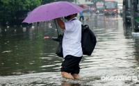 Drainase Kurang Baik, Jalan Trunojoyo Tergenang Banjir