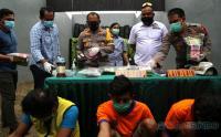 Jaringan Narkotika Jawa-Sumatera Berhasil Ditangkap Polrestabes Surabaya