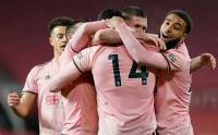 Bahagianya Pemain Sheffield Kalahkan Man United