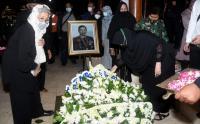 Pangkostrad Pimpin Upacara Pemakaman Jenderal  Purn  TNI Wismoyo Arismunandar