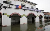 Begini Kondisi Banjir Stasiun Tawang Semarang