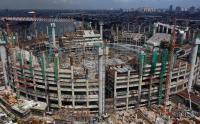 Intip Progres Pembangunan Jakarta International Stadium di Jakarta Utara