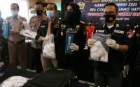 Bea Cukai Rilis Penyelundupan Sabu dalam Kapasitor Mobil