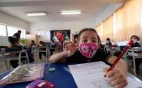 Tingkah Laku Siswa Sekolah Dasar di Chili Kembali ke Sekolah