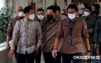 Sandiaga Uno, Erick Thohir dan Nadiem Duduk Bareng Bahas Pariwisata Indonesia