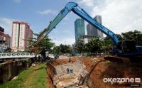 Intip Pembangunan Embung untuk Pengendali Banjir Jakarta