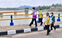 Presiden Jokowi Resmikan Bendungan Sindangheula di Serang, Banten