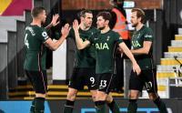 Aksi Ciamik Gareth Bale Bawa Tottenham Menang Tipis Atas Fulman
