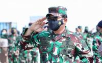 Panglima TNI Lepas Satgas Maritim TNI Konga XXVIII-M Bertugas ke Lebanon