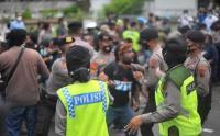 Langgar Protokol Kesehatan, Polisi Bubarkan Demo Mahasiswa Papua di Semarang
