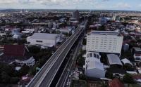 Jalan Tol Layang Pertama di Kota Makassar