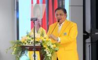 Airlangga Hartato Buka Rapimnas Partai Golkar