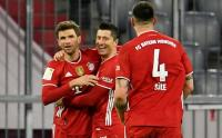 Hattrick Lewandowski, Bayern Munich Bantai Borussia Dortmund 4-2