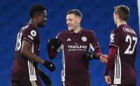 Menang Dramatis, Leicester City Bungkam Brighton & Hove Albion 2-1
