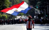 Kekurangan Vaksin Covid-19, Warga Paraguay Protes Presiden Mario Abdo Benitez