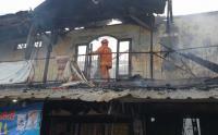 Terjadi Kebakaran Ruko di Samping Polsek Tanjung Priok