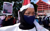 Mahasiswa Makassar Gelar Aksi Damai Peringati Hari Perempuan Internasional