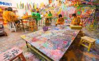Museum Moza Ajak Pengunjung Berekspresi dengan Melukis Sendiri
