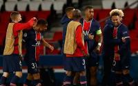 Selebrasi Pemain PSG Setelah Berhasil Singkirkan Bayern dari Liga Champions