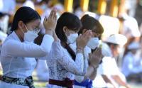 Perayaan Hari Raya Galungan di Denpasar