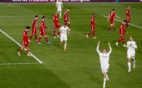 Gagal Menang, Para Pemain Liverpool Tertunduk Lesu