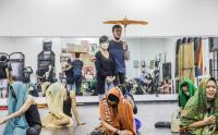 Latihan Serial Musikal Adaptasi Siti Nurbaya yang Disutradarai Garin Nugroho