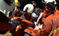 Ruko di Surabaya Terbakar, Penghuni Terjebak