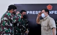 Panglima TNI dan Menhan Beri Keterangan Terkait Hilangnya KRI Nanggala 402 di Perairan Bali Utara