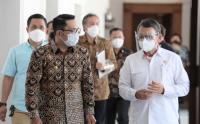 Ridwan Kamil Lakukan Pertemuan dengan Menteri ESDM Arifin Tasrif