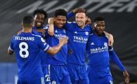 Menang Telak Atas West Brom, Leicester Belum Bisa Salip Manchester United