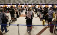 Jelang Larangan Mudik, Penumpang di Bandara Juanda Surabaya Membeludak