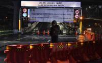 Mudik Dilarang, Tol Layang MBZ Ditutup