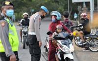 Polisi Perketat Akses Pemudik di Pelabuhan Gilimanuk