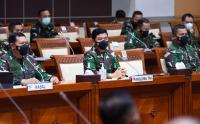 Panglima Kunjungi Komisi I DPR RI Bahas KRI Nanggala 402