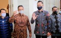AHY Silaturahmi ke Gubernur Anies Baswedan Bahas Permasalahan Jakarta