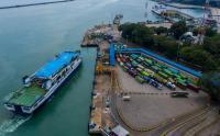 Begini Penampakan Pelabuhan Merak Pasca Pemberlakukan Larangan Mudik