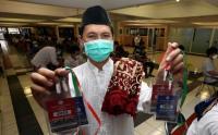 Sholat Idul Fitri di Masjid Al Akbar Surabaya Pakai Kuota dan Sudah Habis