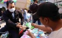 Amplop Lebaran Dijual Murah di Pasar Asemka
