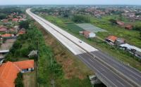 Imbas Larangan Mudik, Jalur Tol Pejagan-Pemalang Sepi