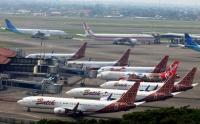 Aktivitas Penerbangan Komersial Dihentikan Sementara, Bandara Soetta Dipenuhi Pesawat Parkir