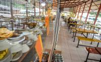 Imbas Larangan Mudik, Pedagang di Rest Area Gigit Jari
