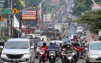 Dampak Penyekatan, Kawasan Parung Bogor Macet Total