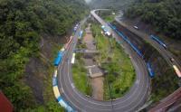 H-4 Lebaran, Jalur Kelok Sembilan di Sumatera Barat Sepi