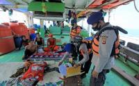 Polair Jaga Ketat Pemudik di Jalur Laut Perairan Indramyu