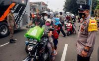 Penyekatan Mudik Lokal di Perbatasan Depok-Bogor