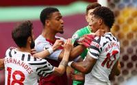 Marcus Rahford Terlibat Keributan dengan Pemain Aston Villa