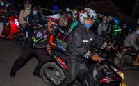 Penertiban Pemudik Sepeda Motor yang Jumlahnya Ribuan