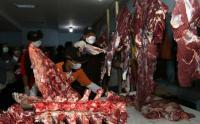 Sidak Kebutuhan Daging Jelang Lebaran di Banyuwangi